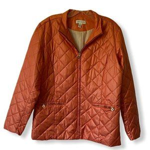 David Brooks Womens Quilted Jacket